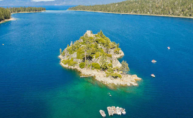 Rent a Boat Lake Tahoe with Private Beach Access